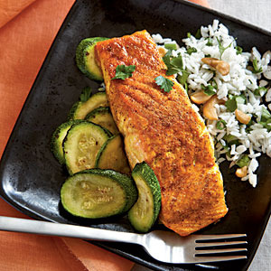Indian salmon recipes