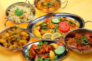 about indian food history