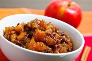 apple chutney Indian recipe
