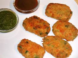 Veg Cutlet Indian Recipes for kid
