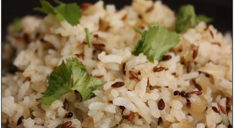 everyday Indian recipes with basmati rice
