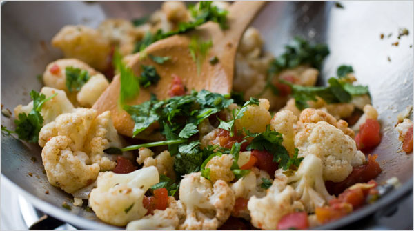 south indian cauliflower recipes