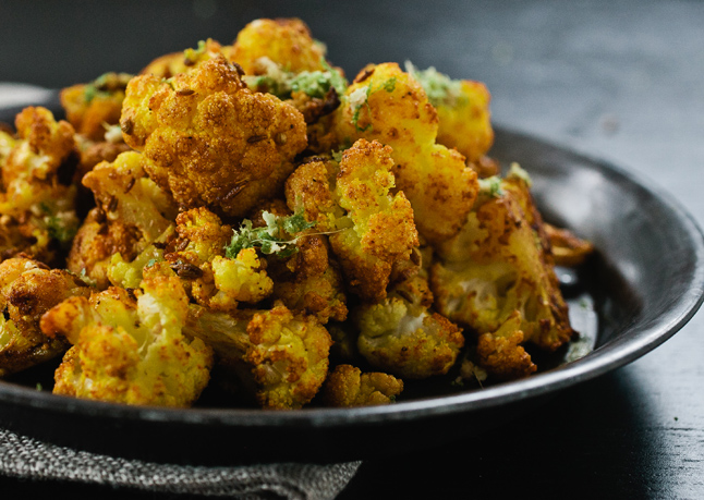 south indian recipes cauliflower fry