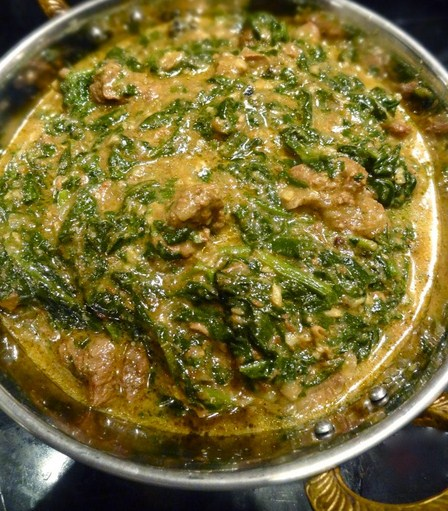 Spinach Indian Recipe for diner