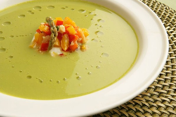 indian asparagus soup recipe