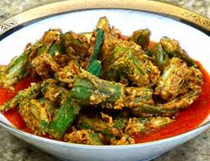 okra indian recipe south indian