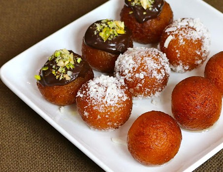 Sanjeev Kapoor indian recipe of gulab jamun