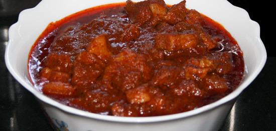 Indian Pork Recipe