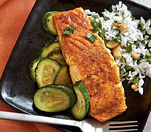 Indian salmon recipes