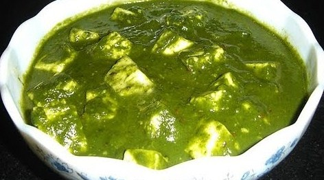Indian recipes for dinner Palak paneer